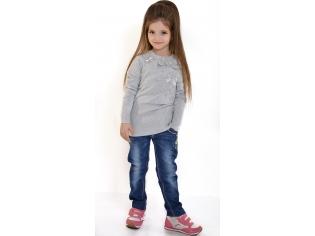 Свитер девочка №812176 серый