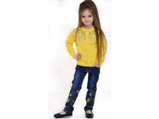Кофта девочка №0812212 желтая