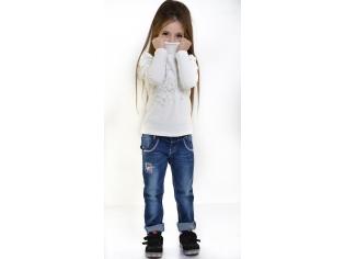 Свитер девочка №3171 белый