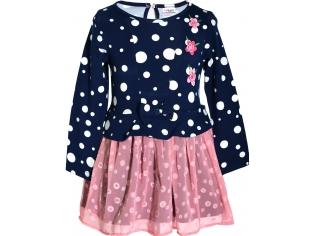 Платье девочка №6721 синее