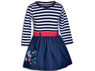 Платье девочка №6719 цветы