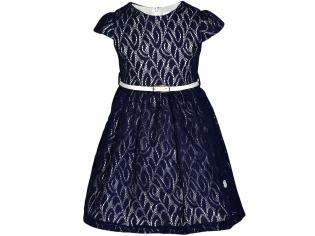 Платье девочка №6694 синее