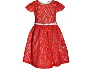 Платье девочка №6694 красное
