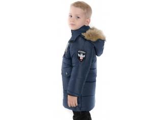 Куртка мальчик   синяя Jaakaru