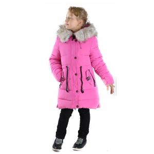Куртка девочка №66-344 розовая