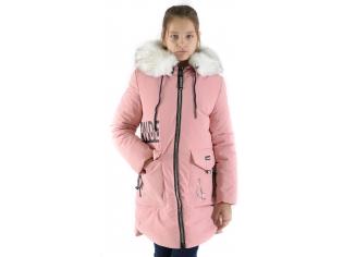 Куртка девочка №66-361 розовая