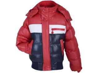 Куртка мальчик №13030 сине-красная