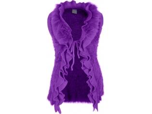 Жилетка девочка №8157 маленькая фиолетовая