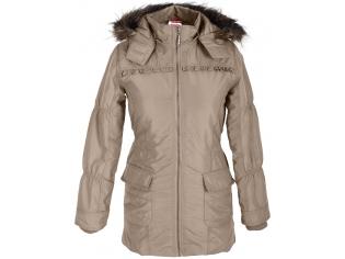 Куртка девочка №197285-006 бежевая