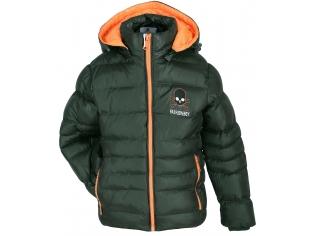 Куртка мальчик №8826 зеленая