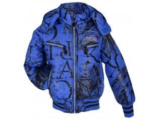 Куртка мальчик №2102 синяя