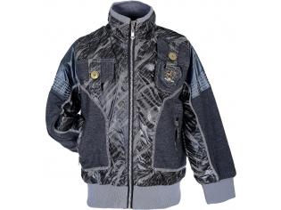 Куртка мальчик №9103 серая