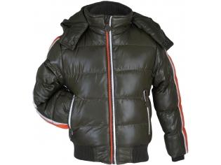Куртка мальчик №13020 зеленая