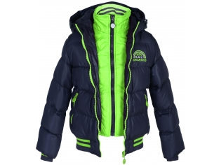 Куртка мальчик №890031 синяя