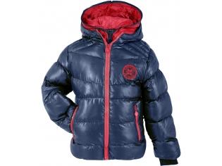 Куртка мальчик №13031 тёмно-синяя