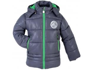 Куртка мальчик №2034 серая