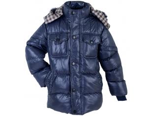 Куртка мальчик №2107 синяя