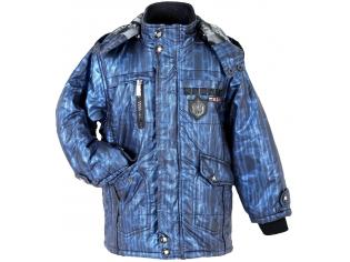 Куртка мальчик №2168 синяя