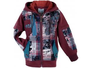 Куртка мальчик №2806 красный