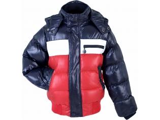 Куртка мальчик №13030 красно-синяя