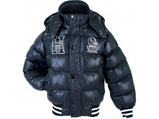 Куртка мальчик №13018 черная