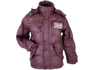 Куртка мальчик №2107 бордовая