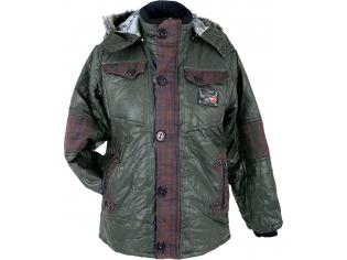 Куртка мальчик №1013 зеленое