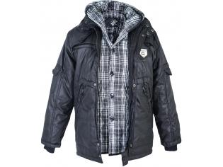 Куртка мальчик №1210 черная