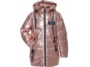Куртка девочка №8831 розовая