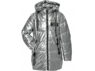 Куртка девочка №8831 серебро