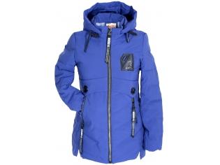 Куртка девочка №66-373 синяя