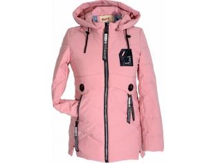 Куртка девочка №66-373 розовая