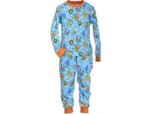 Пижама мальчик №4339 голубая