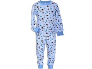 Пижама мальчик №4334 голубая