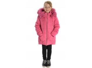 Куртка девочка №HM-5 розовая