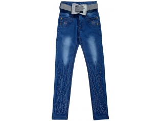 Брюки джинс девочка №801