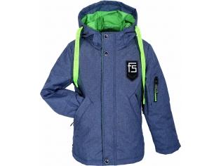 Куртка мальчик №7-803 серая