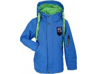 Куртка мальчик №7-803 голубая