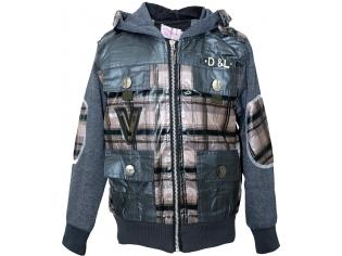 Куртка мальчик №9105 коричневая