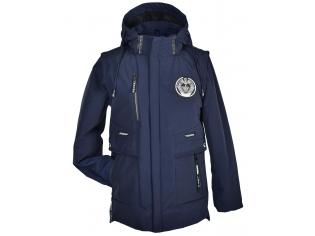 Куртка мальчик №8807 синяя