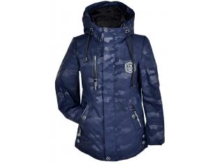 Куртка мальчик №822 синяя