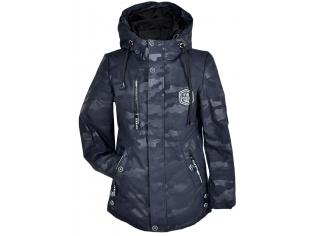Куртка мальчик №822 темно-серая