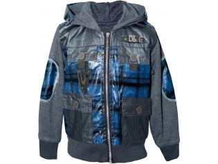 Куртка мальчик №9105 бирюзовая