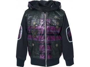 Куртка мальчик №9105 сиреневая