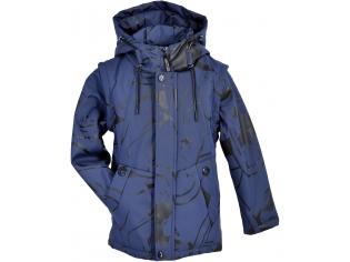 Куртка-жилетка мальчик №7-807 синяя