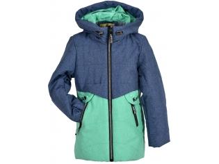 Куртка девочка №66-378 ментоловая