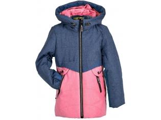 Куртка девочка №66-378 малиновая