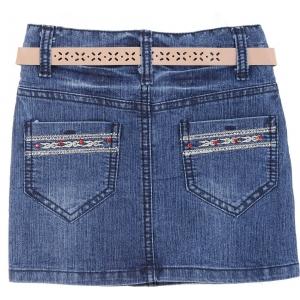 Юбка джинс №4336